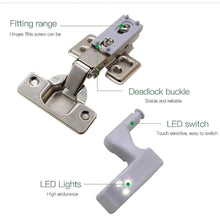 Load image into Gallery viewer, QuickBright™ Automatic LED Hinge Light gotolovely