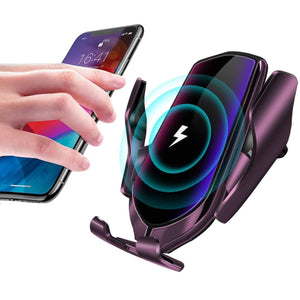 R2 Automatic Clamping Wireless Car Charger, 10W Fast Charging Mount Simple Fast Car Charger gotolovely