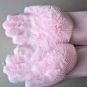 Silicone Cleaning Gloves(1 Pair) gotolovely