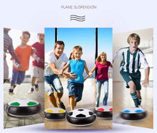 Load image into Gallery viewer, Suspended Football Toy Levitating football + double goal gotolovely