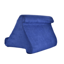 Load image into Gallery viewer, Tablet Pillow Holder Dark Blue gotolovely