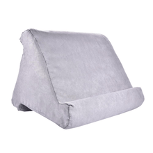Load image into Gallery viewer, Tablet Pillow Holder Gray gotolovely