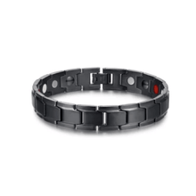 Load image into Gallery viewer, Therapeutic Energy Bracelet Black gotolovely