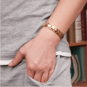 Therapeutic Energy Bracelet Gold gotolovely