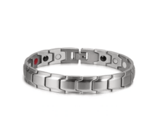 Load image into Gallery viewer, Therapeutic Energy Bracelet Silver gotolovely