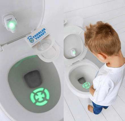 Toddler Target Toilet Light Helps Potty Train Kids gotolovely