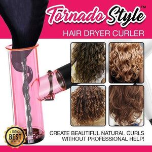 TornadoStyle™ Automatic Hair Air Curler-HOT Pink gotolovely