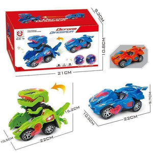 Transforming Dinosaur LED Car gotolovely