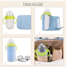 Load image into Gallery viewer, USB Baby Milk Bottle Warmer gotolovely