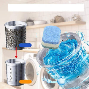 Washing Machine Tablet Cleaner Buy 6 Get 2 Free (Total of 8pcs) gotolovely