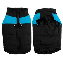 Load image into Gallery viewer, Winter Dog Vest BLUE / S gotolovely
