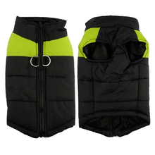 Load image into Gallery viewer, Winter Dog Vest GREEN / S gotolovely