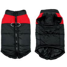 Load image into Gallery viewer, Winter Dog Vest RED / S gotolovely