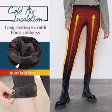 Load image into Gallery viewer, Winter Fleece Lined Stretchy Leggings gotolovely