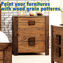Load image into Gallery viewer, Wood Designs DIY Graining Tool gotolovely
