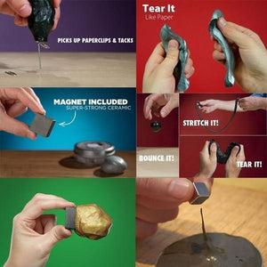 Wow!Putty Magnetic Slime——Puzzle + relieve stress gotolovely