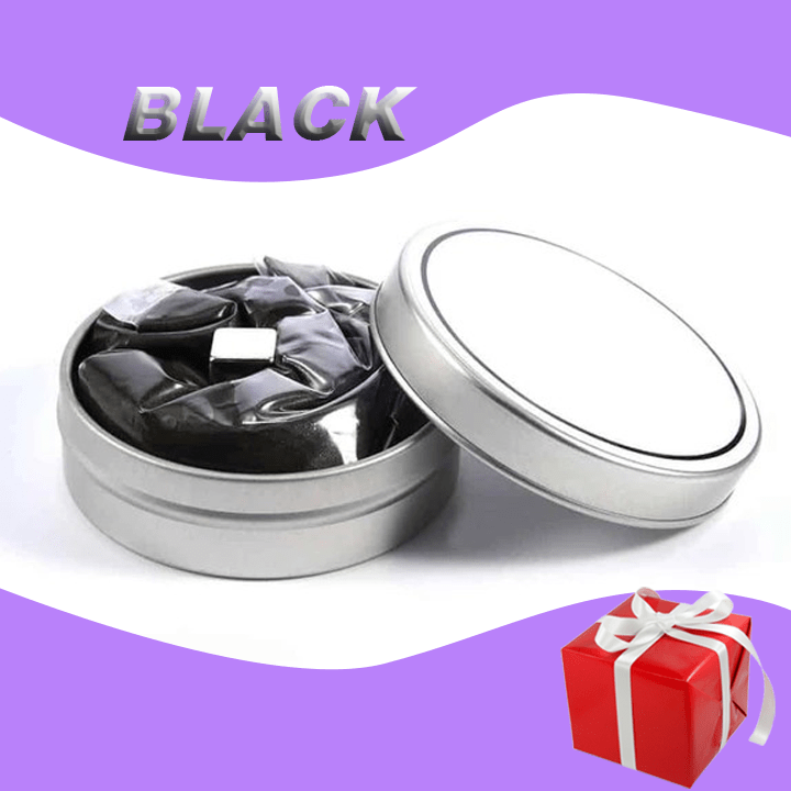 Wow!Putty Magnetic Slime——Puzzle + relieve stress Black gotolovely