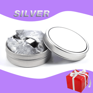 Wow!Putty Magnetic Slime——Puzzle + relieve stress Silver gotolovely