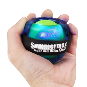 Wrist Power Gyroscopic Ball Blue summermax