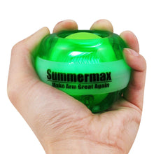 Load image into Gallery viewer, Wrist Power Gyroscopic Ball Green summermax