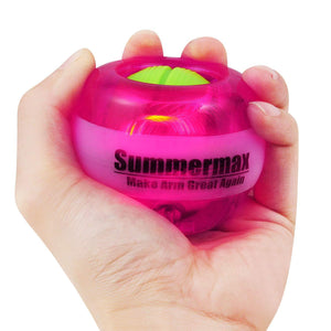 Wrist Power Gyroscopic Ball Purple summermax