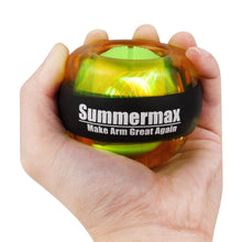Load image into Gallery viewer, Wrist Power Gyroscopic Ball Yellow summermax