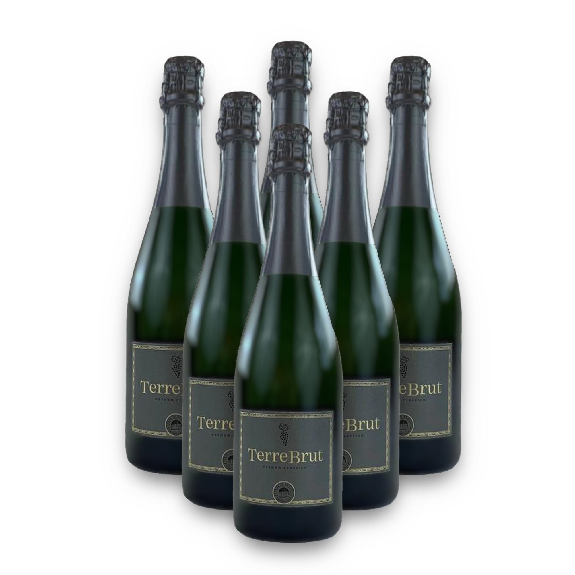Case of 6 bottles of Terre Brut Sparkling Wine