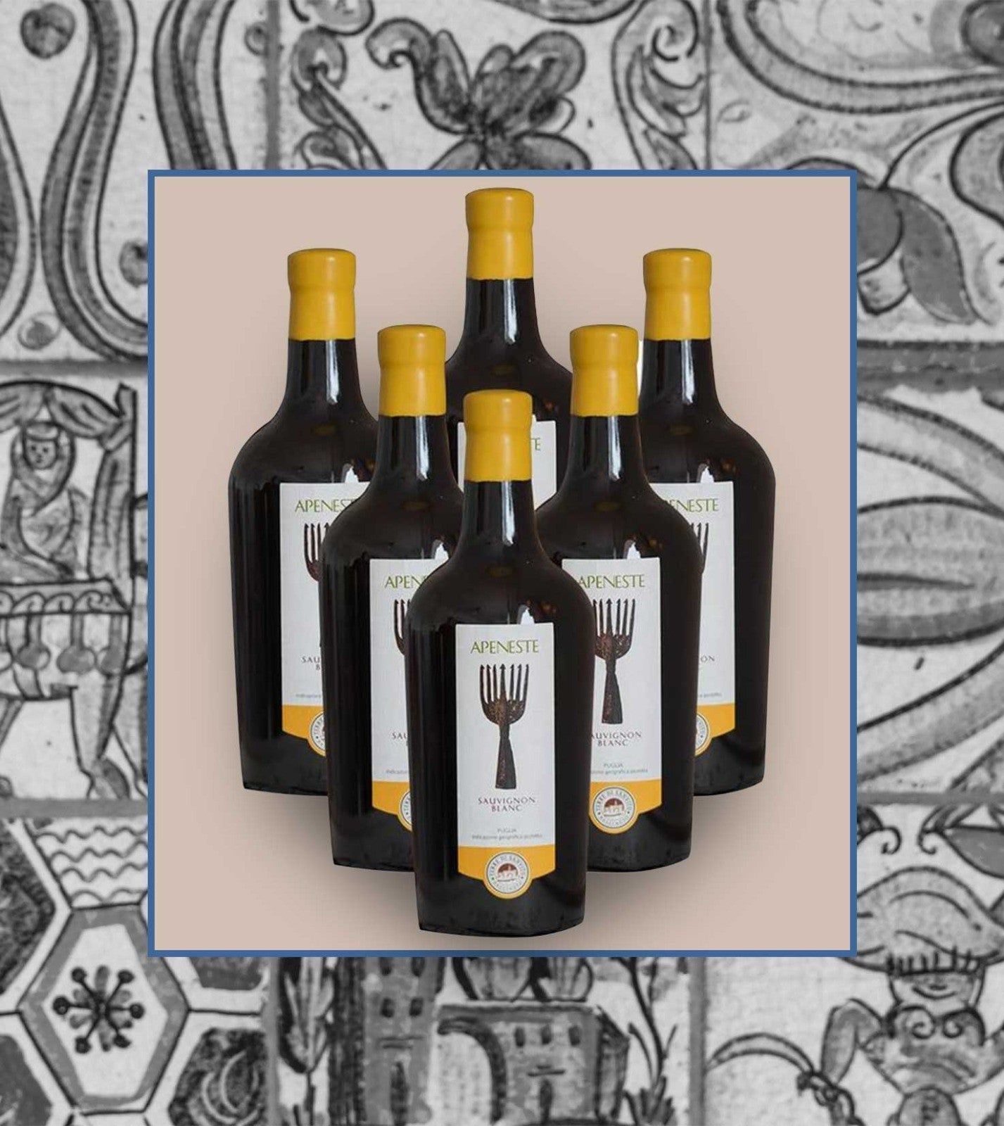 Case of 6 bottles of Apeneste