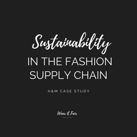 sustainability; fashion; supplychain; H&M
