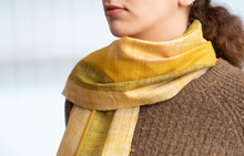 Load image into Gallery viewer, Multi Colours Turmeric Yarn Glory Stole