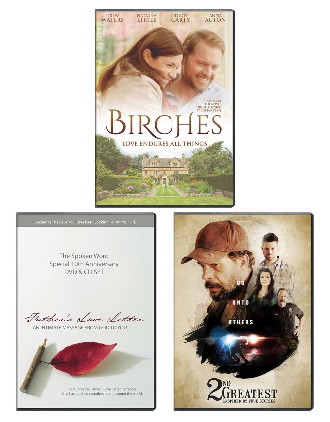 Birches, Father's Love Letter, & 2nd Greatest - DVD 3-Pack