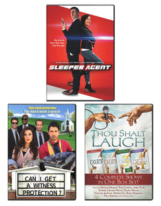 Sleeper Agent, Can I Get A Witness Protection, Thou Shalt Laugh 1-4 Box Set - DVD 3-Pack