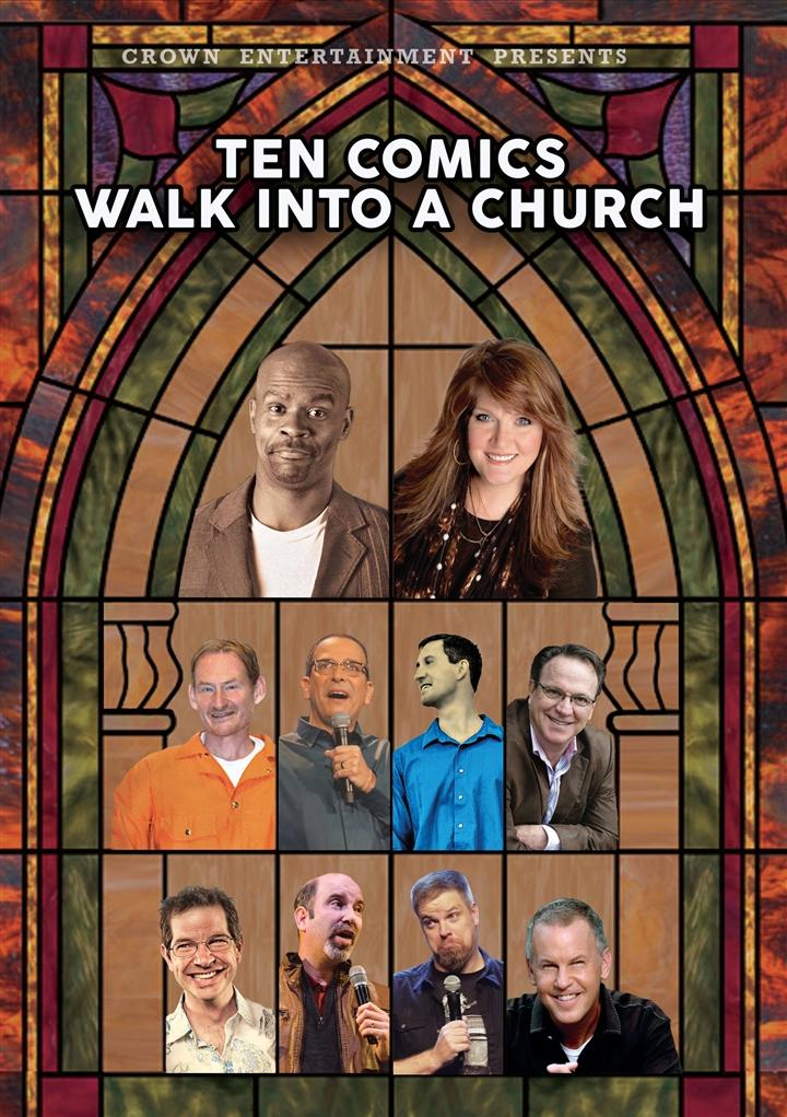ten comics walk into a church movie dvd