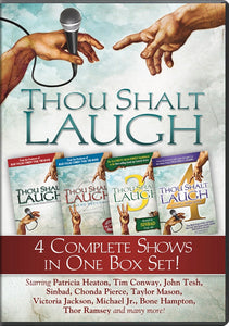 Thou Shalt Laugh 1-4 Box Set - DVD