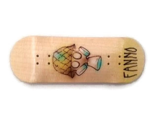 "Fanno ""Gas Mask"" 29mm Fingerboard Deck or Complete"