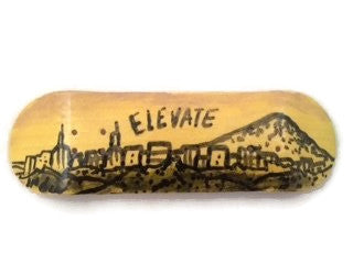 "Elevate ""PDX"" 29mm Fingerboard Deck or Complete"
