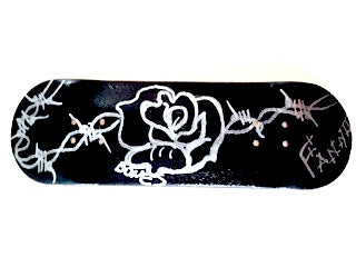 Black Rose, 29mm Fingerboard Deck or Complete