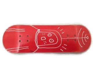 elevate fingerboard red space deck