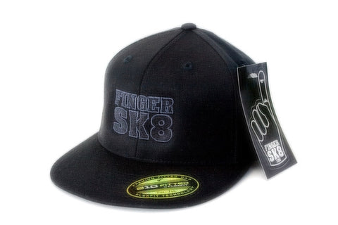 FINGERSK8 - Flexfit Flat Bill Cap (ship on  1/22/2018)