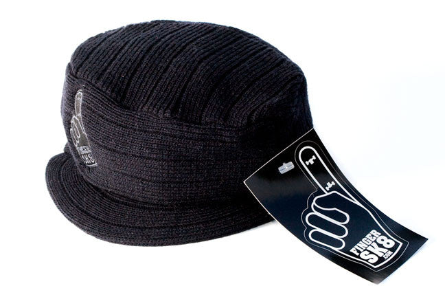 fingersk8 fingerboard black knit cap
