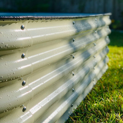 Why is Aluzinc Steel the Best Material for Raised Garden Beds?