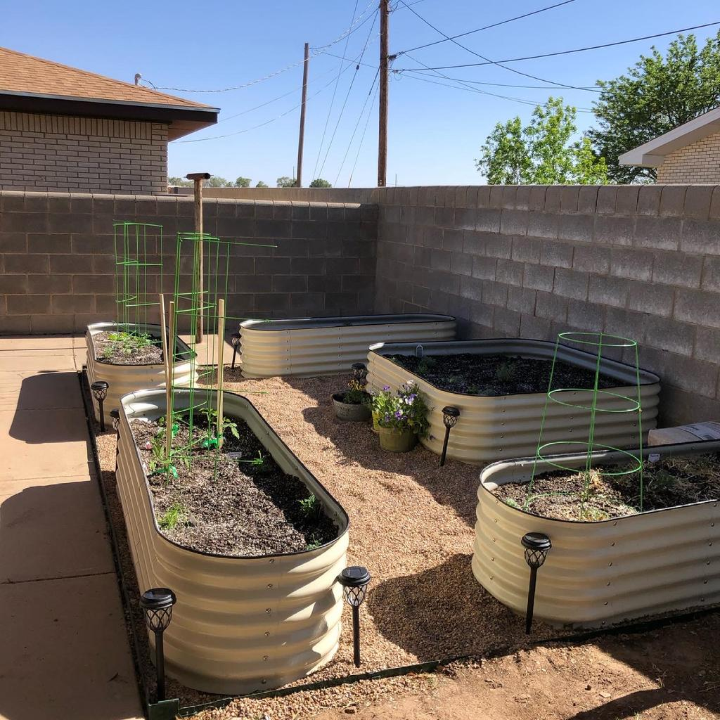 Soil Required for Vego Garden Metal Raised Beds
