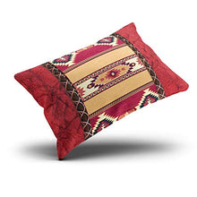 Load image into Gallery viewer, MUKPU Custom Home Decoration Throw Pillowcase Cushion Cover Red County South Western Tribal Print King 20X36 Inches One Side Design