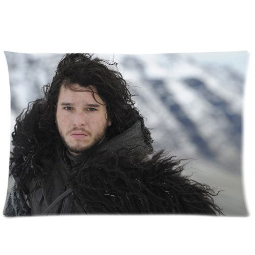 Jon Snow Game Of Thrones Pillowcases Custom Pillow Case Cushion Cover 20 X 30 Inch Two Sides