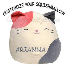 "Load image into Gallery viewer, Customized Kellytoy Squishmallow Karina The Cat 16"" Super Soft Plush Toy Pillow Pet Animal Pillow"