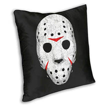 Load image into Gallery viewer, Horror Movie Maniac Cushion Cover Case PillowCustom Zippered Square PillowcaseBed Sofa Living Room Decor Throw Cushion