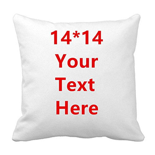 Aonp Novelty Cotton Throw Pillowcase Add Picture Text Logo Custom Your Own Funny Cushion Covers Personalized Gifts