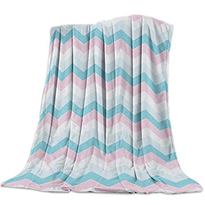 "PinkHome Flannel Fleece Bed Blanket 59"" x 78"", Cyan High Heels So Comfortable, Fuzzy Cozy Soft Throw Blanket for Baby/Pet/Sofa/Couch/Travel Decorative"
