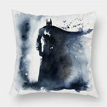 Load image into Gallery viewer, WWZ-Personality Pillowcase Throw Pillow Covers Pillows Decorative Batman Apply Kids Children Baby Adult Student Boy Girl Teenagers Home Decor