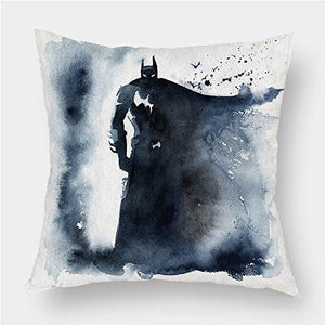 WWZ-Personality Pillowcase Throw Pillow Covers Pillows Decorative Batman Apply Kids Children Baby Adult Student Boy Girl Teenagers Home Decor